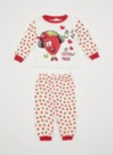 DeFacto Pijama Takım Ekru